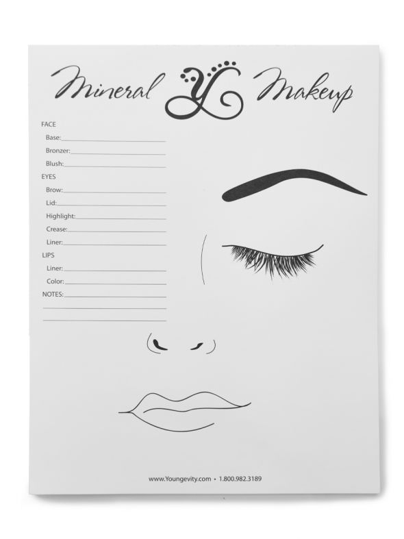 Mineral Make-Up Color Match Pad